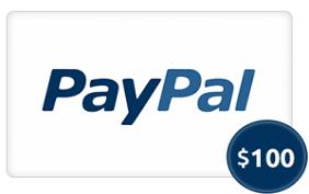 $100 Paypal cash